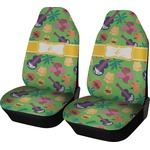 Luau Party Car Seat Covers (Set of Two) (Personalized)