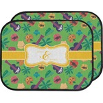 Luau Party Car Floor Mats (Back Seat) (Personalized)