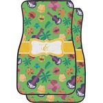 Luau Party Car Floor Mats (Front Seat) (Personalized)
