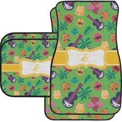 Luau Party Car Floor Mats (Personalized)