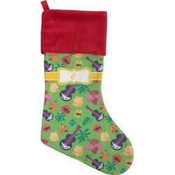 Luau Party Christmas Stocking (Personalized)