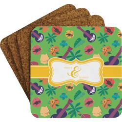 Luau Party Coaster Set (Personalized)