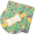 Luau Party Rubber Backed Coaster (Personalized)