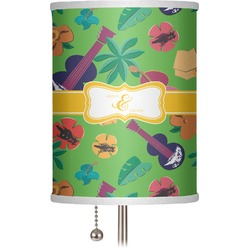 """Luau Party 7"""" Drum Lamp Shade (Personalized)"""