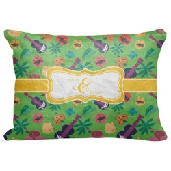 "Luau Party Decorative Baby Pillowcase - 16""x12"" (Personalized)"