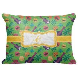 "Luau Party Decorative Baby Pillowcase - 16""x12"" (Personalized)"