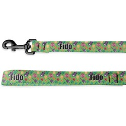 Luau Party Deluxe Dog Leash (Personalized)