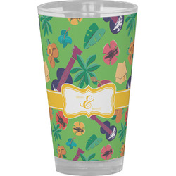 Luau Party Drinking / Pint Glass (Personalized)