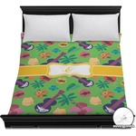 Luau Party Duvet Cover (Personalized)
