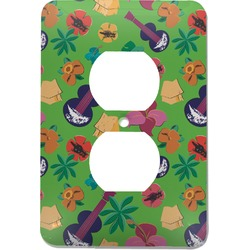 Luau Party Electric Outlet Plate (Personalized)