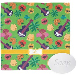 Luau Party Wash Cloth (Personalized)