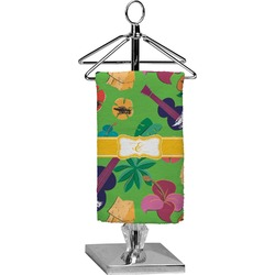 Luau Party Finger Tip Towel - Full Print (Personalized)