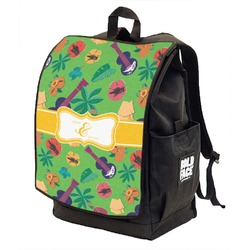 Luau Party Backpack w/ Front Flap  (Personalized)