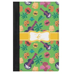 Luau Party Genuine Leather Passport Cover (Personalized)