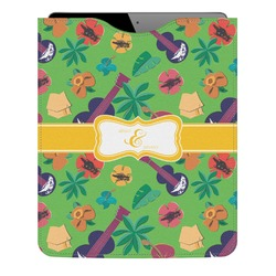 Luau Party Genuine Leather iPad Sleeve (Personalized)