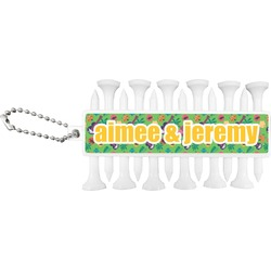 Luau Party Golf Tees & Ball Markers Set (Personalized)