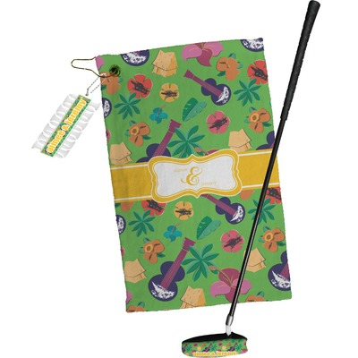 Luau Party Golf Towel Gift Set (Personalized)