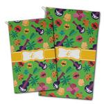 Luau Party Golf Towel - Full Print w/ Couple's Names