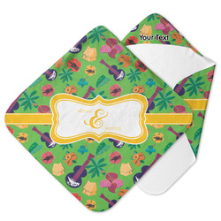 Luau Party Hooded Baby Towel (Personalized)