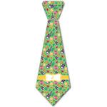 Luau Party Iron On Tie - 4 Sizes w/ Couple's Names