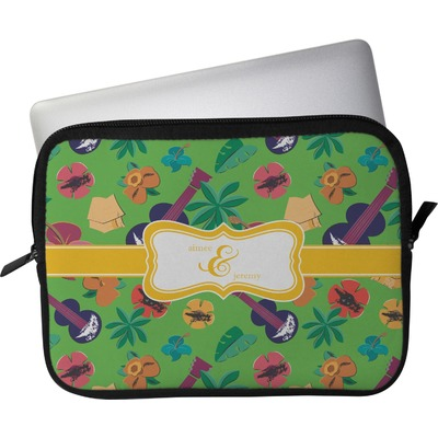 """Luau Party Laptop Sleeve / Case - 12"""" (Personalized)"""