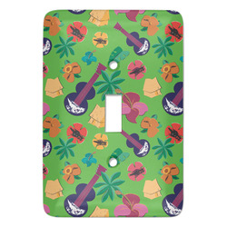 Luau Party Light Switch Covers - Multiple Toggle Options Available (Personalized)