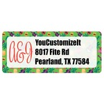 Luau Party Return Address Labels (Personalized)