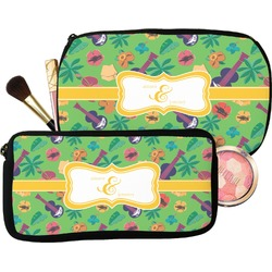 Luau Party Makeup / Cosmetic Bag (Personalized)