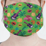 Luau Party Face Mask Cover (Personalized)
