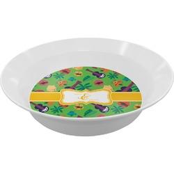 Luau Party Melamine Bowl (Personalized)