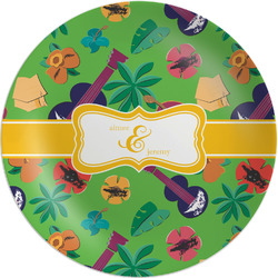 Luau Party Melamine Plate (Personalized)