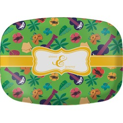 Luau Party Melamine Platter (Personalized)