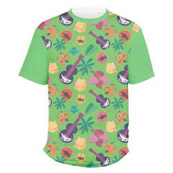 Luau Party Men's Crew T-Shirt (Personalized)