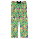 Luau Party Mens Pajama Pants (Personalized)