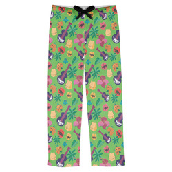 Luau Party Mens Pajama Pants (Personalized)