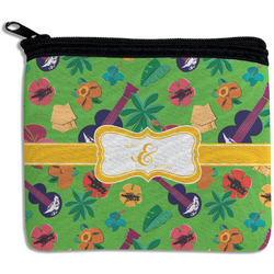 Luau Party Rectangular Coin Purse (Personalized)