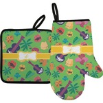 Luau Party Oven Mitt & Pot Holder (Personalized)