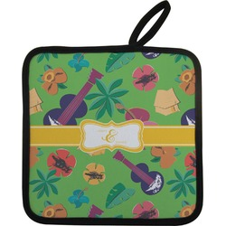 Luau Party Pot Holder (Personalized)