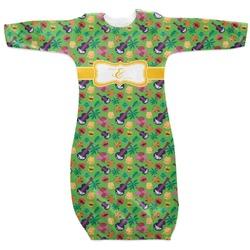 Luau Party Newborn Gown (Personalized)