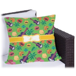 Luau Party Outdoor Pillow (Personalized)