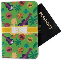 Luau Party Passport Holder - Fabric (Personalized)