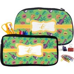 Luau Party Pencil / School Supplies Bag (Personalized)