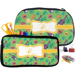 Luau Party Neoprene Pencil Case (Personalized)