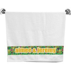 Luau Party Bath Towel (Personalized)