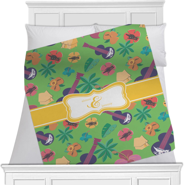 Luau Party Fleece Blanket Queen King 90 Quot X90