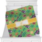 Luau Party Minky Blanket (Personalized)