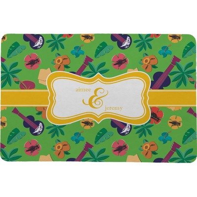"""Luau Party Comfort Mat - 18""""x27"""" (Personalized)"""