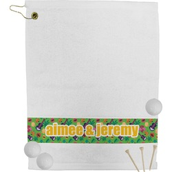 Luau Party Golf Towel (Personalized)