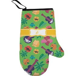 Luau Party Right Oven Mitt (Personalized)