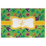 Luau Party Laminated Placemat w/ Couple's Names